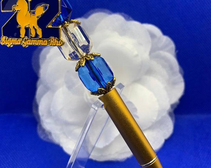 Sigma Gamma Rho Gold Leaf Pen