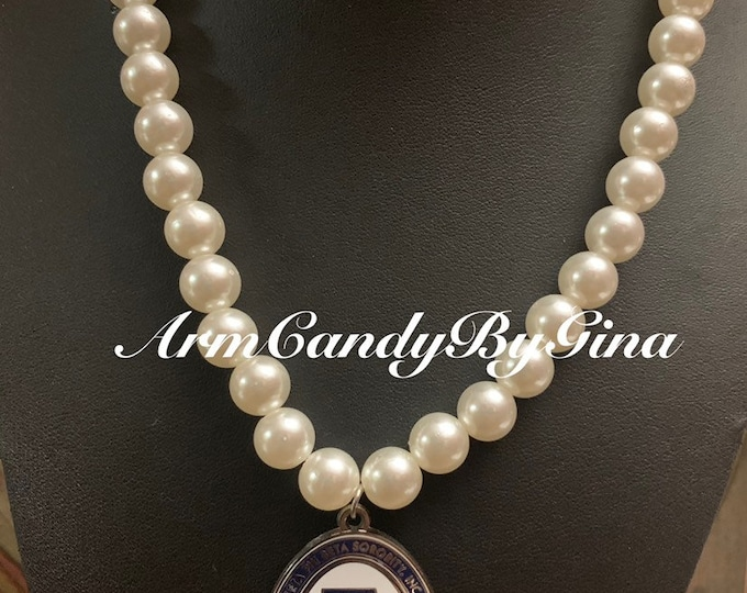 Zeta Amicette Pearl Necklace
