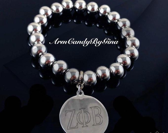 Zeta Phi Beta Signature Bracelet