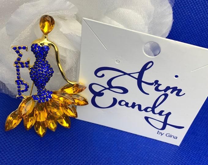 Lady Sigma Elegant Brooch