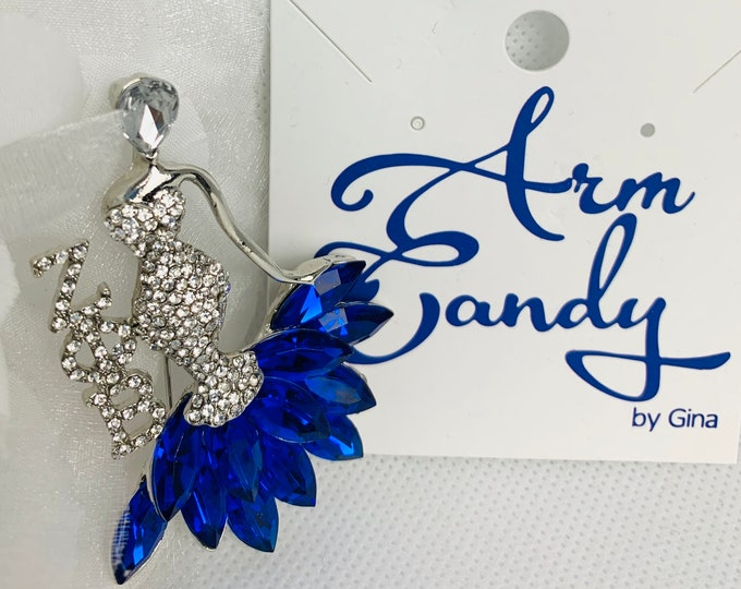 A Zeta Lady Looks Good Everyday Elegant Brooch