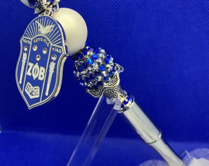 """Zeta Phi Beta """"Shield"""" Collection Pen"""