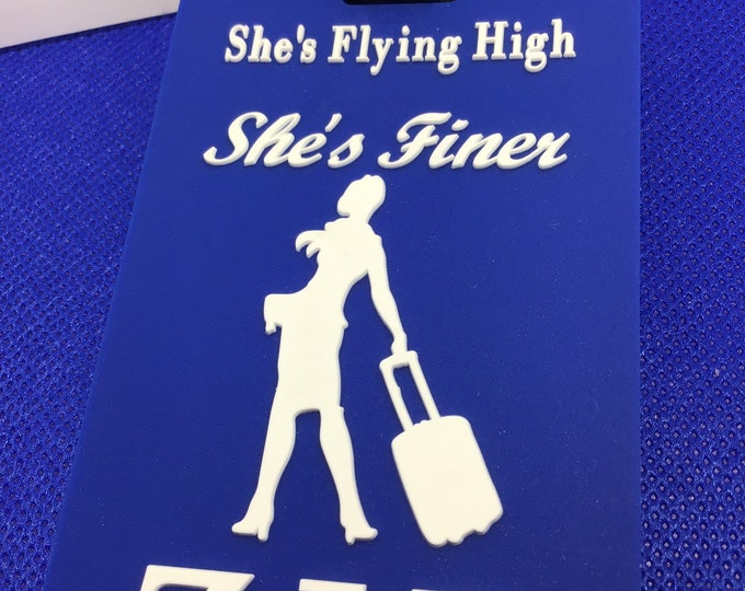 Flying High! She's Finer
