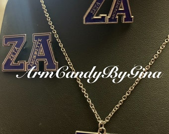 Zeta Phi Beta Archonette Jewelry Set
