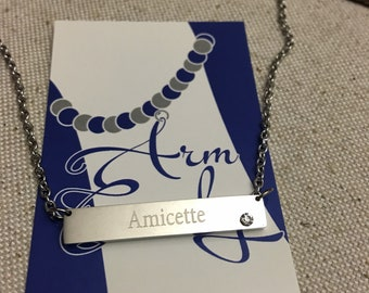 Zeta Youth Affiliate Amicette Necklace