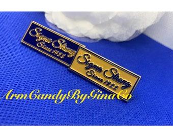 Sigma Strong Lapel Pin Set