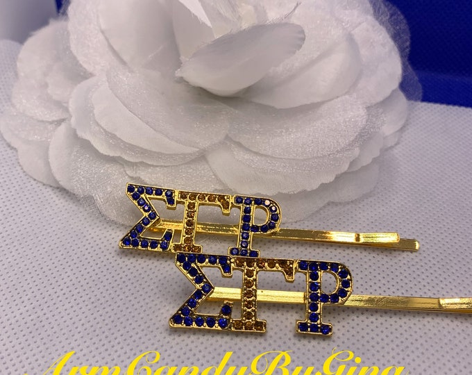 Sigma Gamma Rho Hair Clips