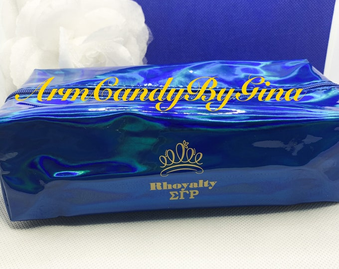 "Sigma Gamma Rho ""RHOyalty"" Makeup Bag"