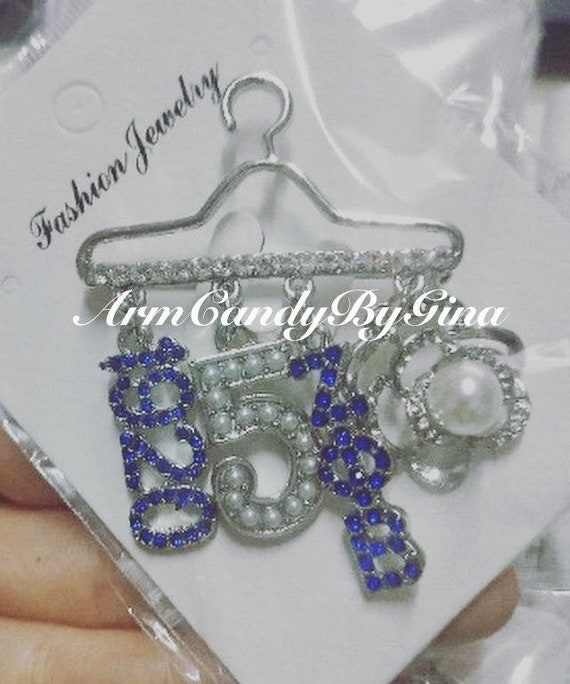Zeta Phi Beta Signature Story Brooch