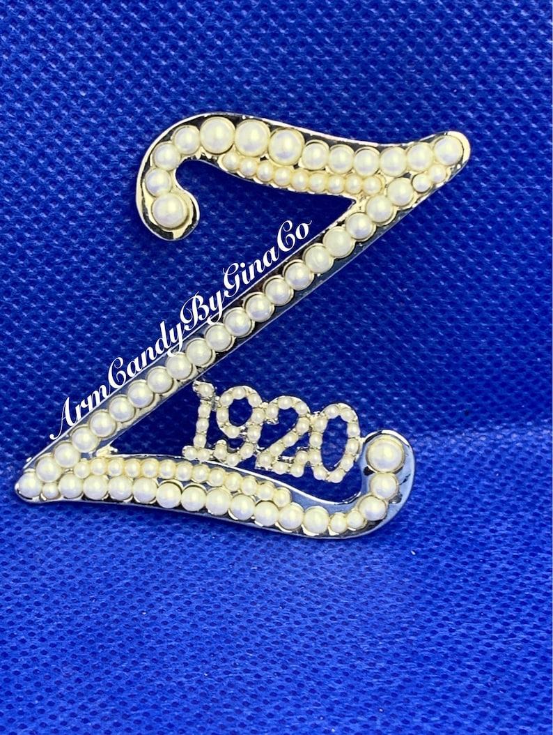 Z 1920 All Pearl Brooch