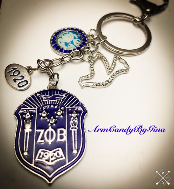 Zeta Phi Beta Purse Charm
