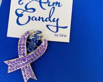 Zeta Phi Beta Domestic Violence Awareness Pin