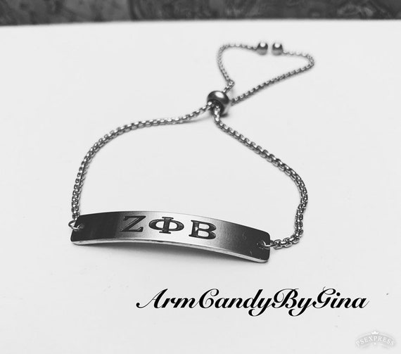 ZΦΒ Stainless Steel Bracelet