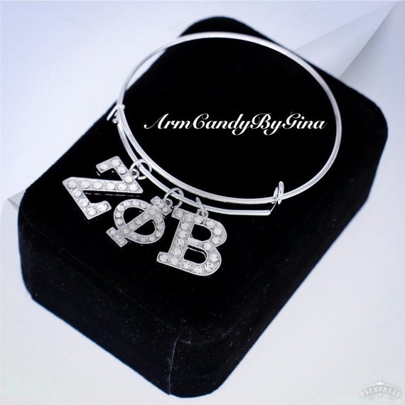 Zeta Phi Beta Sorority, Incorporated Bangle Bracelet