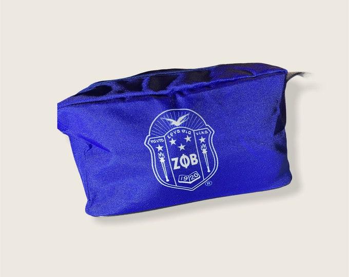 Zeta Phi Beta Cosmetic Bag
