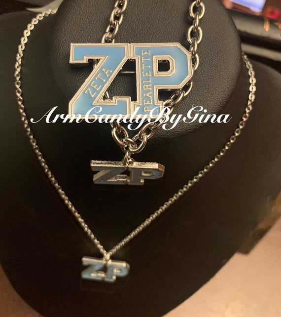 Zeta Pearlette Necklace, Bracelet and Pin Set