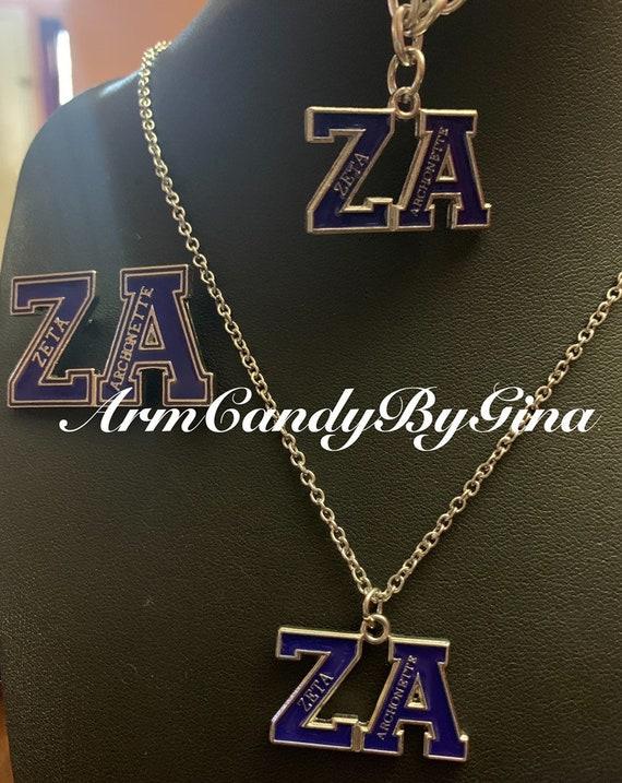 Zeta Phi Beta Archonette Jewelry Set
