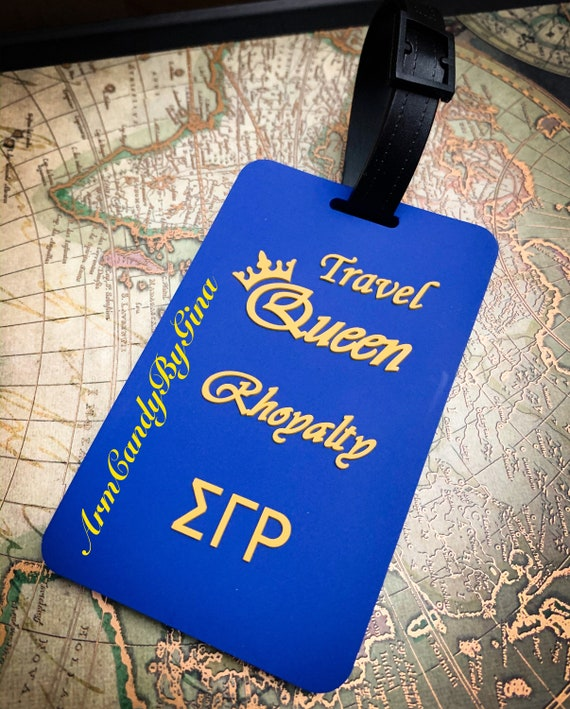 Sigma Gamma Rho Luggage Tag