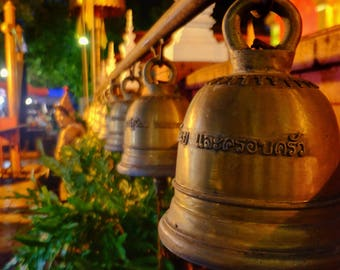 Temple Bells, Chiang Mai, chaing mai photography, buddhism photography, urban photography, thailand, thailand photography