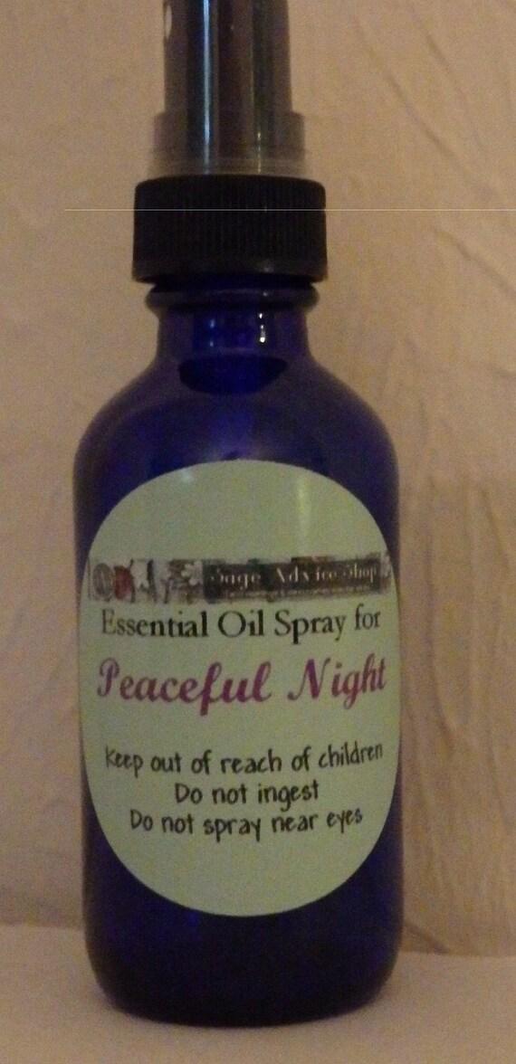 Sleep Peacefully Spray - Peaceful Night