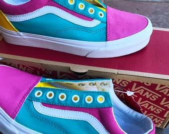 ddb253e393 Colorful Vans -Customs