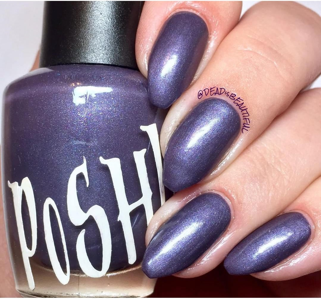 Passion Nail Polish: Unique Passion Purple Pearl Nail Polish Full Size