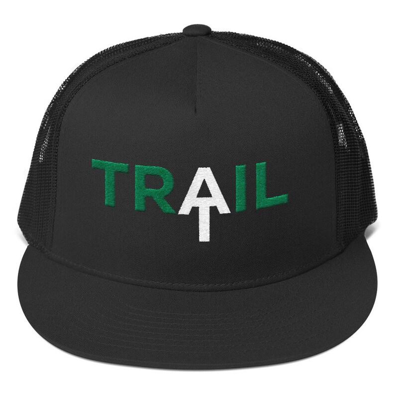 edbccd73 Appalachian Trail Mountain Trucker Hat Outdoor Trucker Hat | Etsy