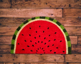 Quirky Watermelon Coir Doormat