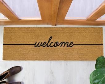 Charmant Welcome Patio Doormat   120x40cm   Patio Double Door Mat