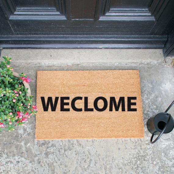 Weclome Novelty Doormat Etsy