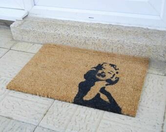 Marilyn Monroe doormat - 60x40cm