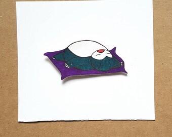 Snorlax Pin