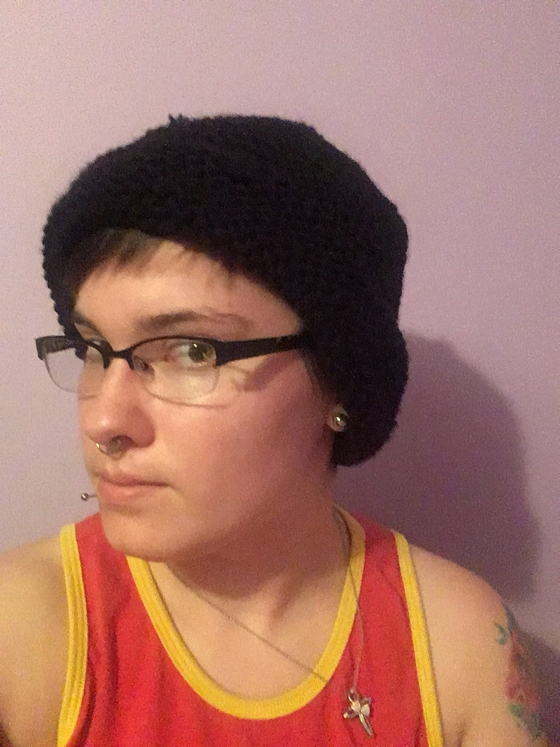 plain+LGBT Hand-Knit Hats