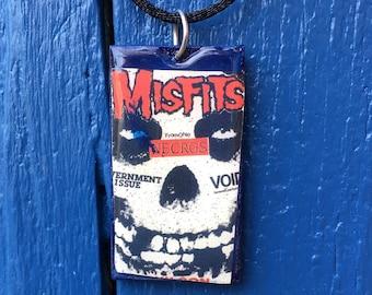 Misfits Punk Flyer Pendant