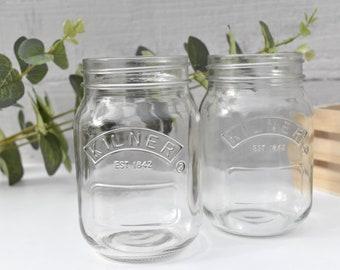 Rustic Mason Jars for Flowers/Candy Bar/Dessert Bar/Wedding Decor