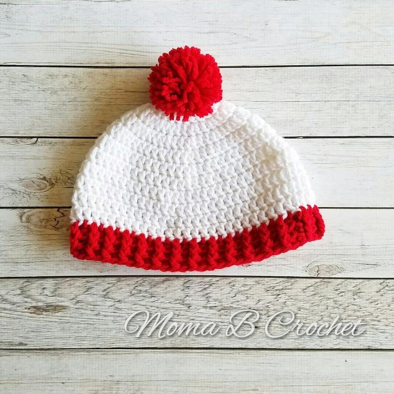 a0e8070afbb Crochet Waldo Hat Crochet Waldo Beanie Waldo Inspired Hat