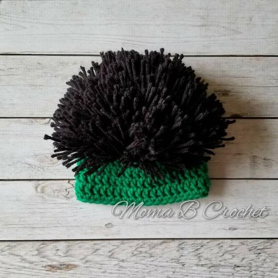 Crochet Hulk Hat Hulk Hat Baby Hulk Hat Child Hulk Hat  b93ccc52a39
