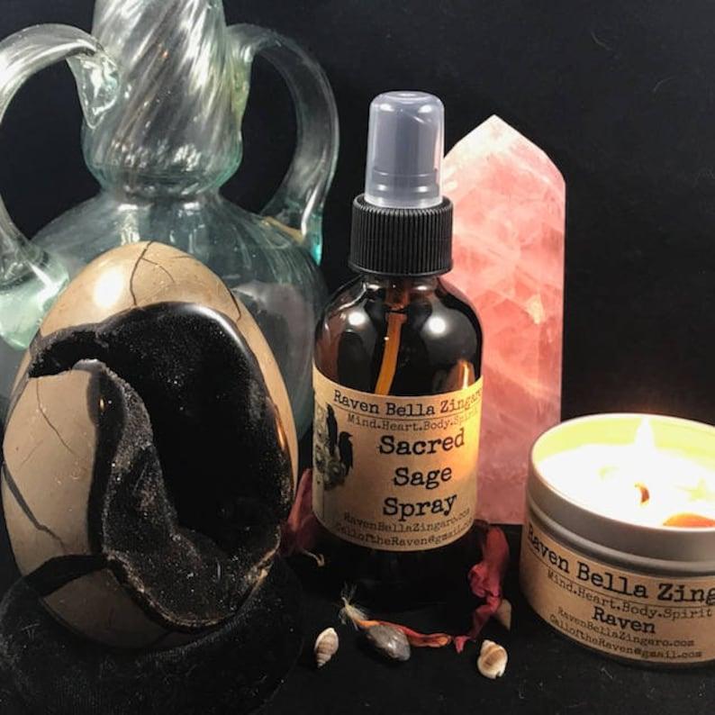 Sacred Sage Aromatherapy Spray 4oz image 0