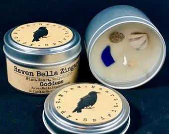 Goddess Soy Candle 6oz Tin