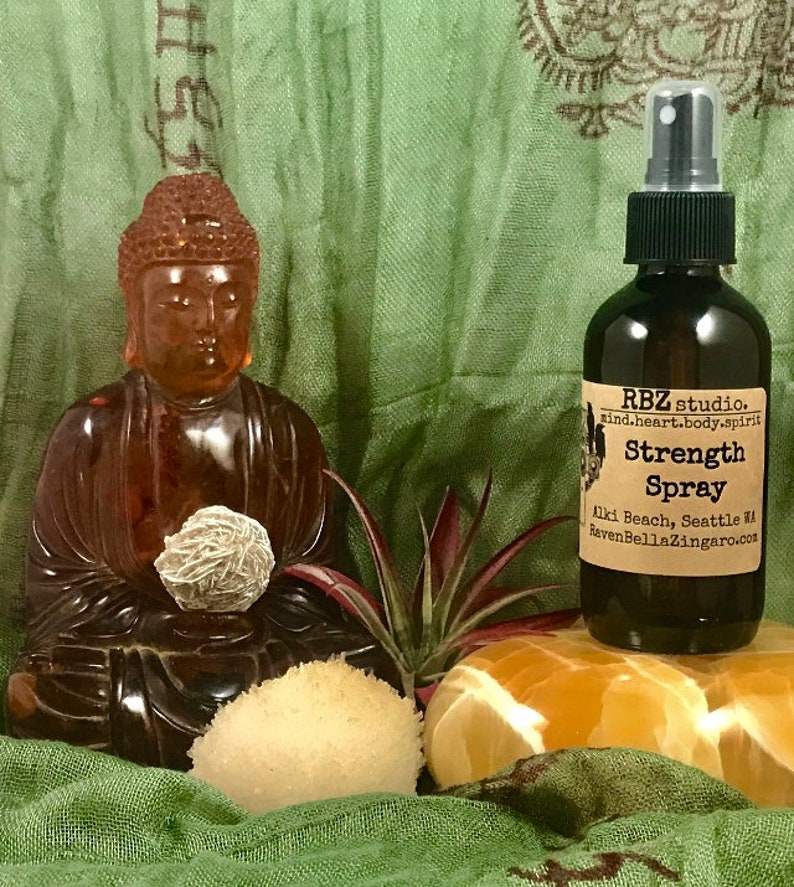Strength Aromatherapy Spray 4oz image 0