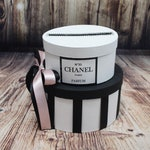 Black and White with Silver Card Box Centerpiece - Wedding, Baby Shower, Bridal Shower, Birthday