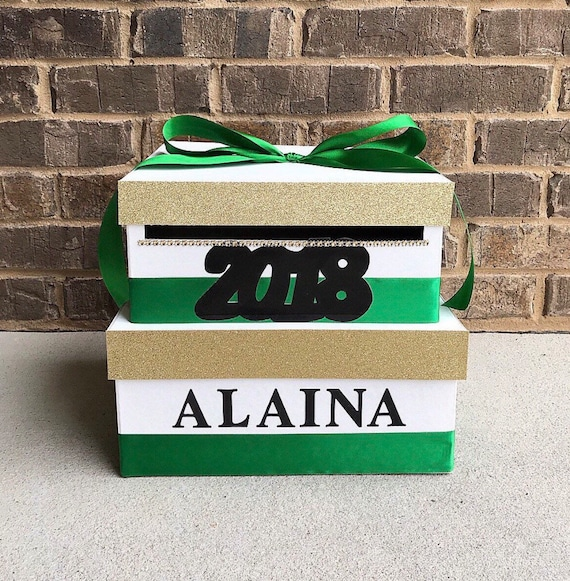2018 Graduation Card Box Giftcard Box And Letter Box Etsy