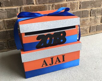 Graduation Card Box, College Graduation Card Holder