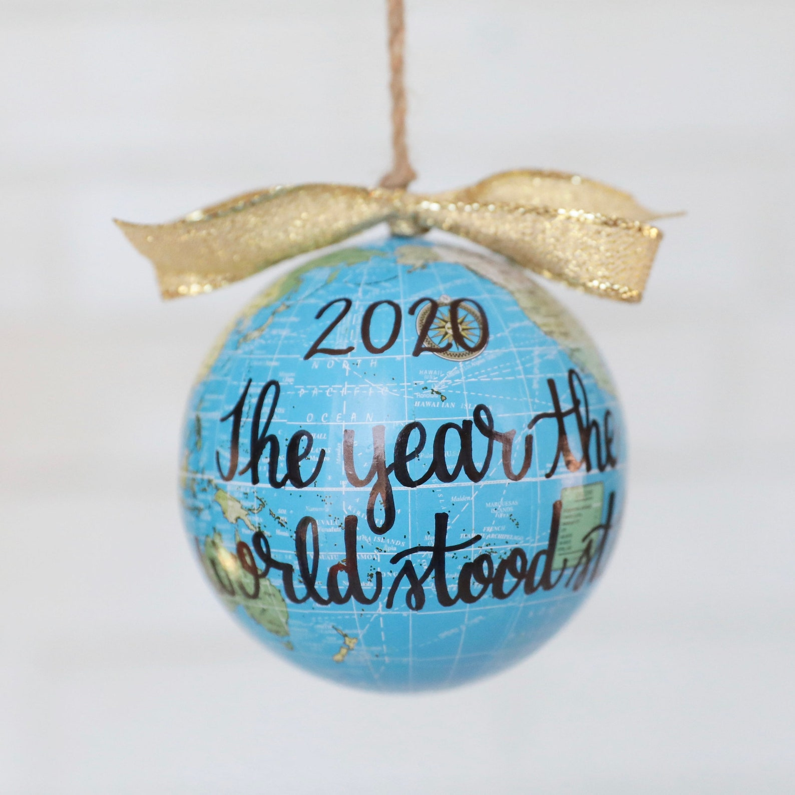 2020 The Year the World Stood Still Ornament