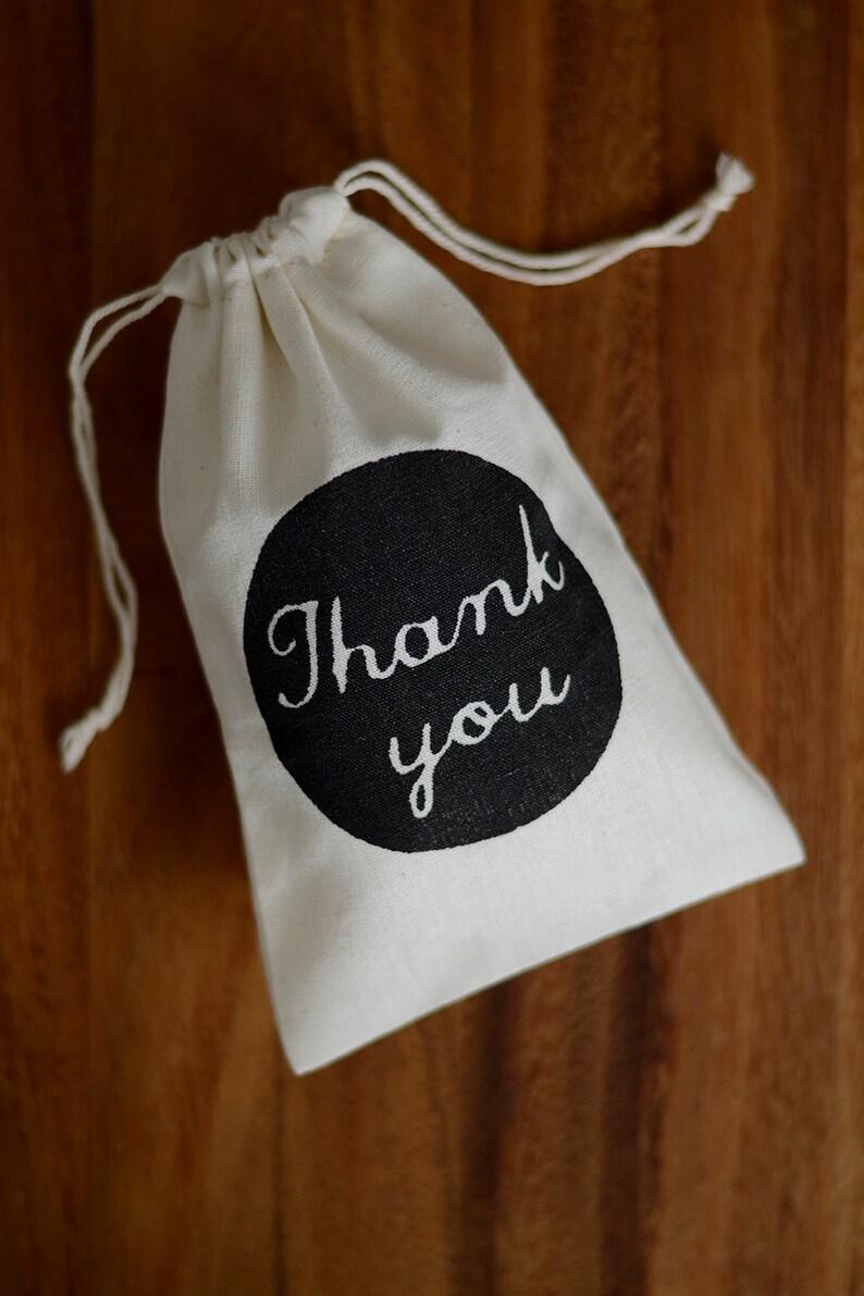 100 Medium wedding favour bags muslin favor bags Thank You wedding bomboniere bags wedding gift bags wedding thank you bags