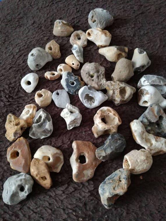 Hag Stone Odin Stone Holey Stone Medium Etsy A hag stone is simply a stone with a natural hole through it. etsy