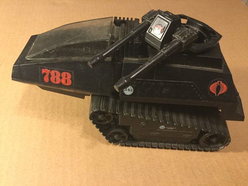 GI JOE HISS Tank 1983 Vintage G.I Joe Cobra H.I.S.S Tank