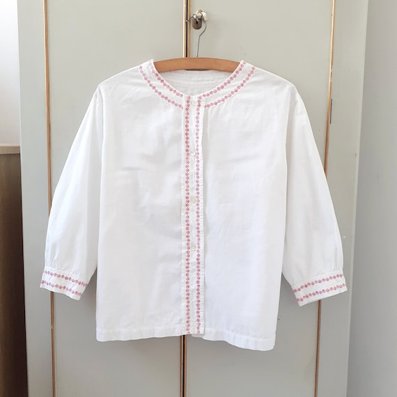 Edwardian Folk Blouse