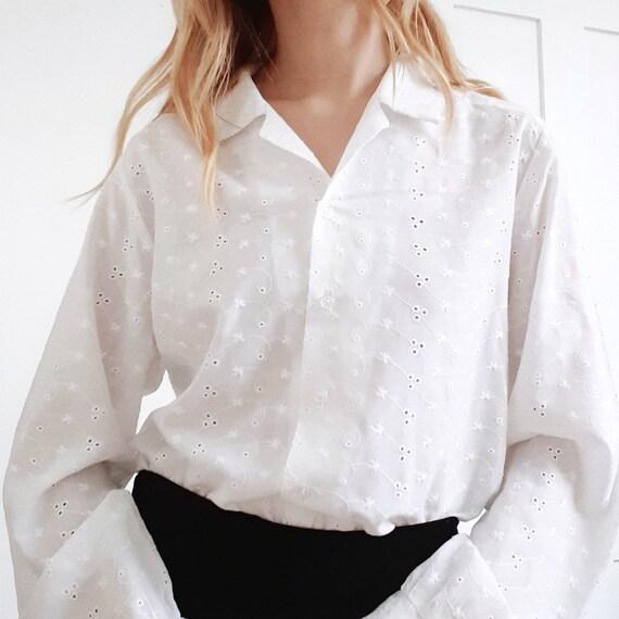 Broderie Anglaise Shirt