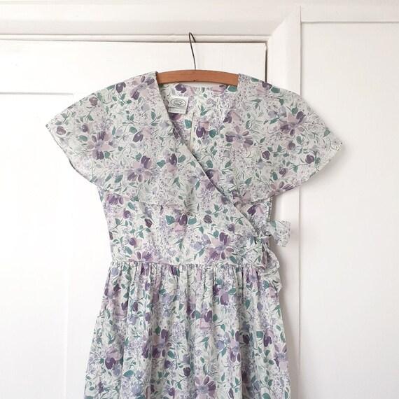 Laura Ashley Cotton Floral Dress